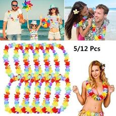 Fashion, Hawaiian, Garland, tropicalnecklace