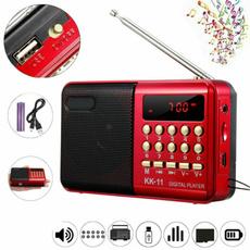 miniradiospeaker, Rechargeable, Music, Bass
