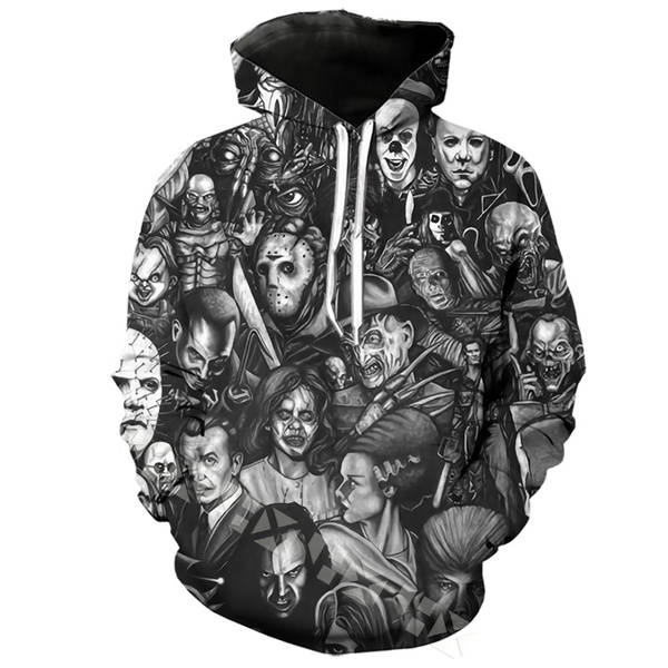 King, Long Sleeve, Horror, womens clothes