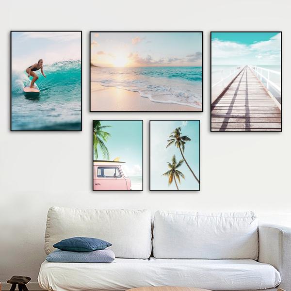 animalscanva, Decor, Surfing, minimalistpostersnordicstylehomedecor