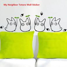 My neighbor totoro, Bathroom, concisestyle, decorativewalldecal