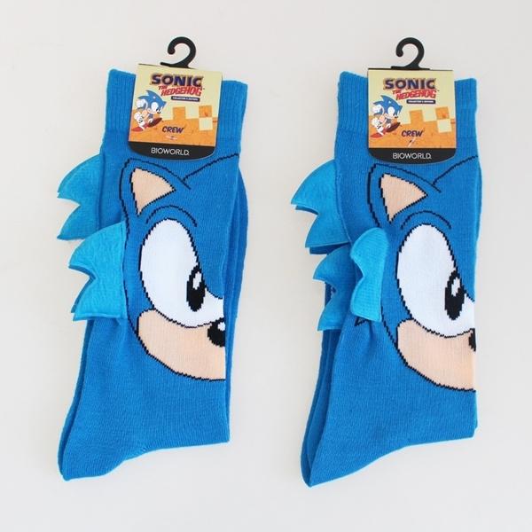 cartoonsock, Cotton Socks, Cotton, sonic