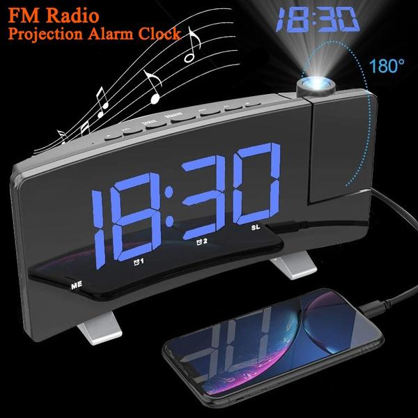 projectionalarmclock, alarmclockprojector, usb, Clock