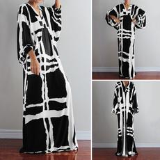 Summer, Fashion, Necks, Black And White
