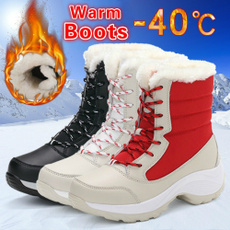 ankle boots, cottonshoe, Winter, Waterproof