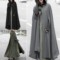 womencloak, pluvial, hooded, femaleclothe