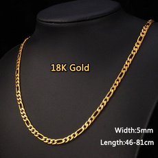 goldplated, necklaces for men, Chain, Classics