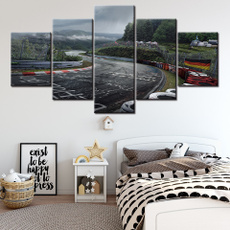 decoration, canvasprint, nurburgring, Home