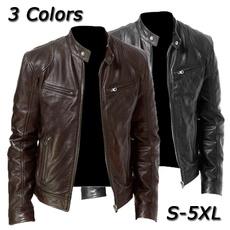 motorcyclejacket, men coat, pujacket, Coat
