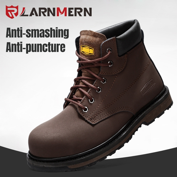 Larnmern Top Grade Safety Boots Steel Midsole Steel Toe Work Boots High Temperature Resistant Function Boots L58 Wish