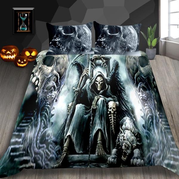 bedclothe, popularstyle, skullworld, Bedding