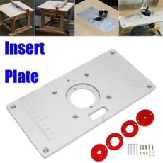 forwoodworking, Aluminum, insertplate, Routers