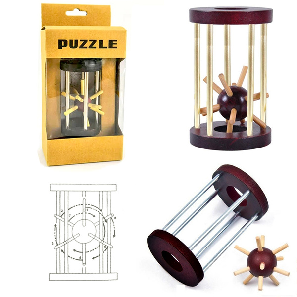 Toy, Wooden, intelligencetoy, minglock