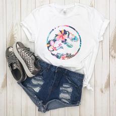 Funny T Shirt, Floral, Cotton T Shirt, dinosaurtshirt