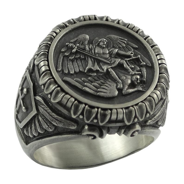 Stainless Steel, shield, Men, Unique Jewelry