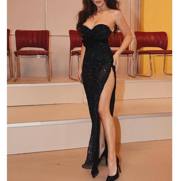 sleeveless, Fashion, Tube top, Evening Dress