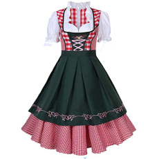 oktoberfest, Cosplay, Plaid Dress, Carnival
