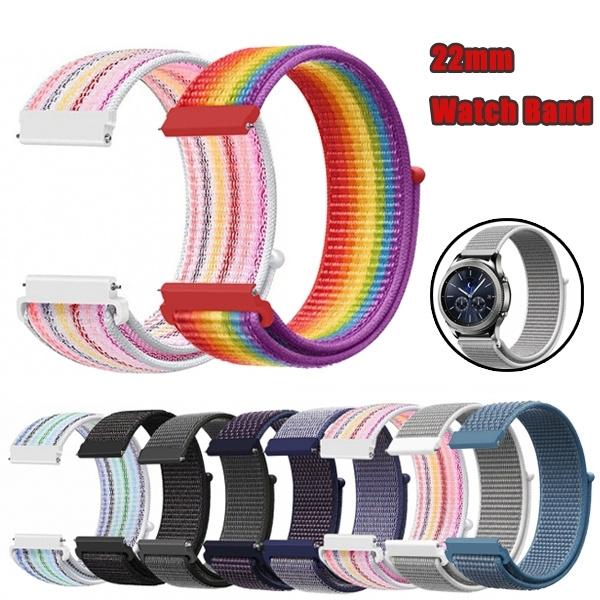 watchbandforsamsunggears3, samsunggears3classicnylonstrap, 22mmnylonloopstrap, Classics