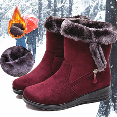 ankle boots, winterbootsforwomen, short boots, fur