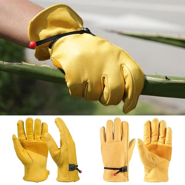 safetyandsecurity, Gardening, leather, mechanicalglove