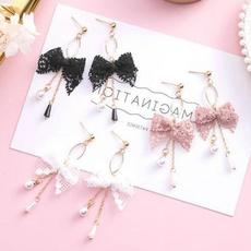 Korea fashion, Fashion, Jewelry, Pearl Earrings