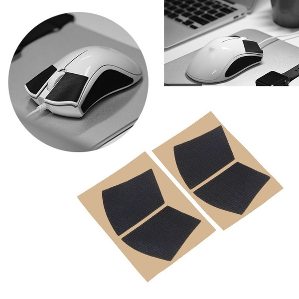 mengersty Original Hotline Games Mouse Skates Side Stickers Sweat Resistant Pads Anti-Slip Tape for Logitech G Pro Wireless Mouse