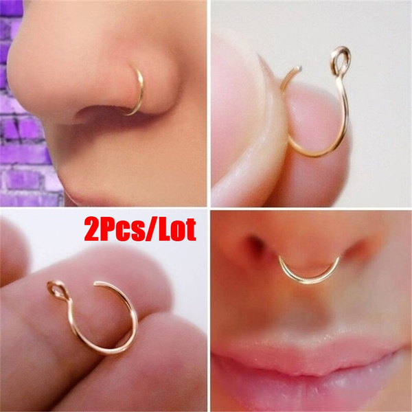 cliponnosering, fakepiercing, Jewelry, nosejewelry