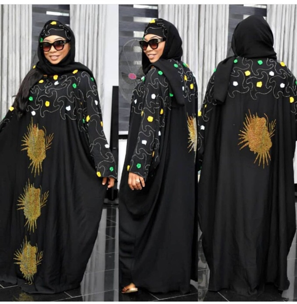 Summer, Plus Size, africandre, women fashion dress