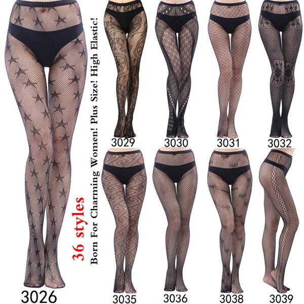 Fashion, highelasticity, fishnetbodysuit, lingeriessexyfemme