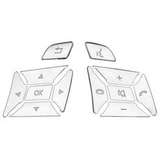 silverabsbuttonsticker, Stickers, Cover, steeringwheelbuttonmodification