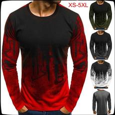 Round neck, Fashion, Shirt, camouflageprint