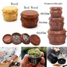 grinder, tobacco, Wooden, Herb