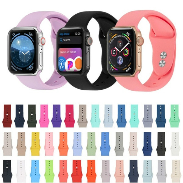iwatch44mmband, iwatchstrap38mm, iwatchband38mm, Silicone