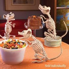 Decor, Skeleton, skull, festivaldecor