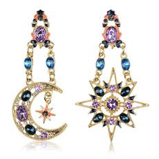sunandmoon, exaggeratedearring, Jewelry, Stud Earring