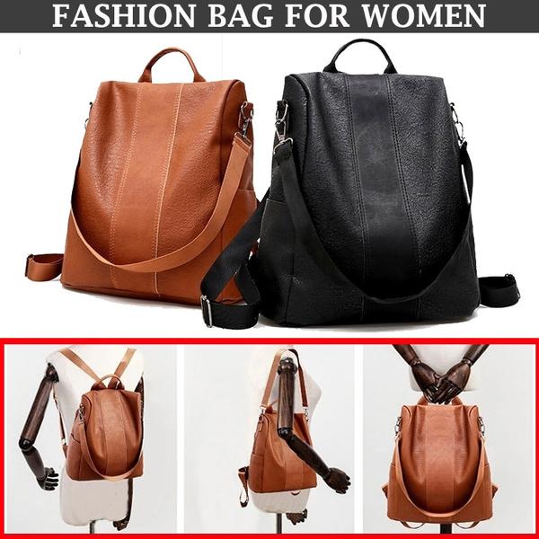 Shoulder Bags, School, vintage backpack, Casual bag