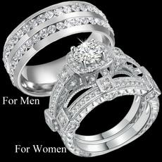 Stainless Steel, Bridal, Engagement Ring, hisandhersring