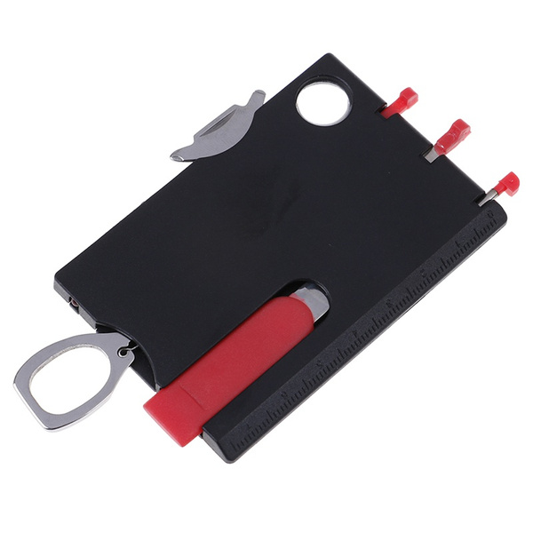 1set Multi-functional Swisscard Credit Card survival combination tool card ha