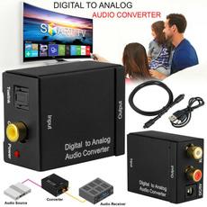 toslinkaudiocable, toslinkconnector, digitaltoanalog, Adapter