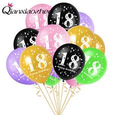 baloon, ballon, birthdaydecor, 18thbirthday