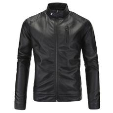decoration, Plus Size, coatsampjacket, leather