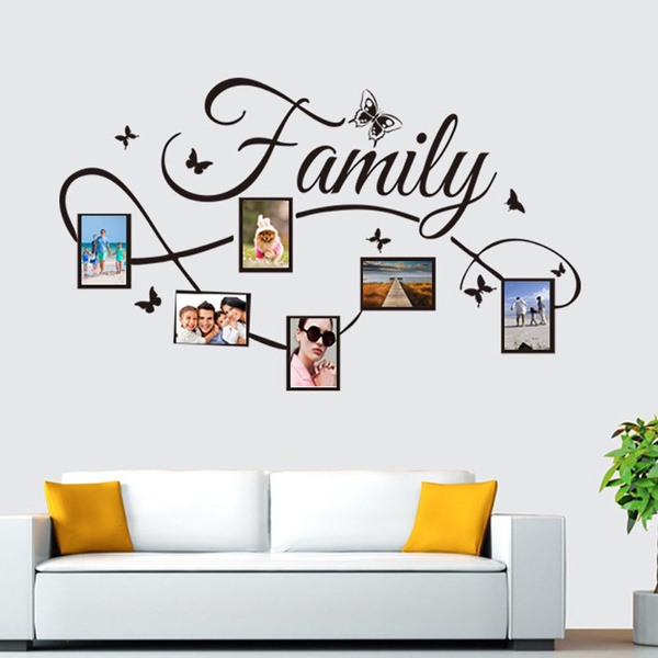 Photo Frame, Decor, treewallsticker, Family