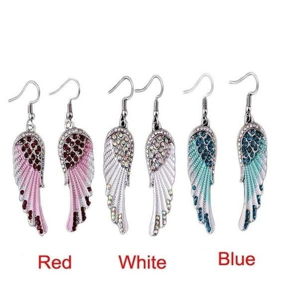 DIAMOND, Jewelry, Angel, angelwing