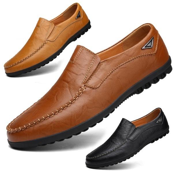 Fashion Accessory, Plus Size, Flats shoes, genuine leather