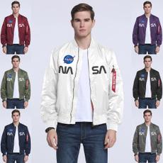 flightjacket, Casual Jackets, Plus Size, Nylon