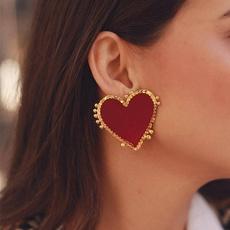 Heart, Fashion, punk earring, Stud Earring