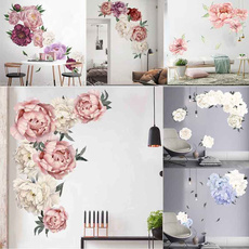 Home & Kitchen, Decor, Flowers, peonysticker