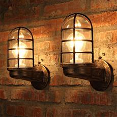walllight, wallmounted, living room, Copper