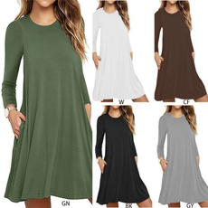 Necks, Sleeve, Long Sleeve, plain
