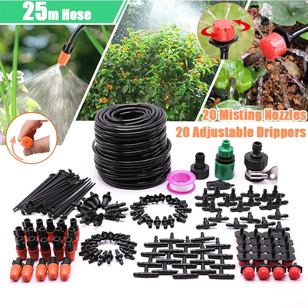 Mikro Garden Lawn Water Spray Misting Nozzle Sprinkler Watering Irrigation Heiß